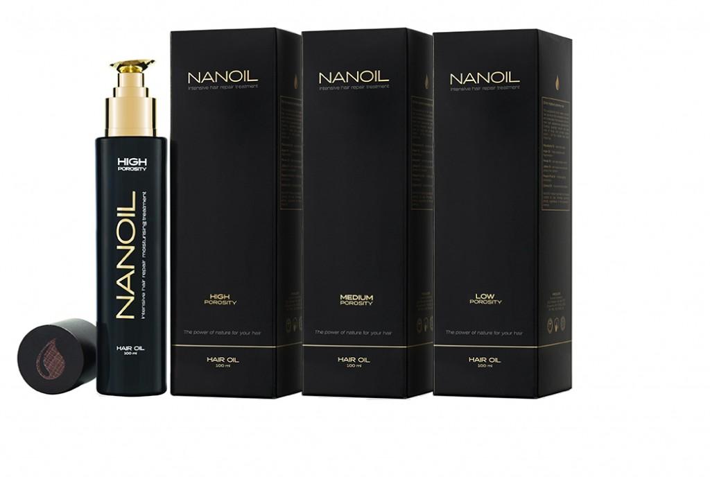 Nanoil - all 3 oil types