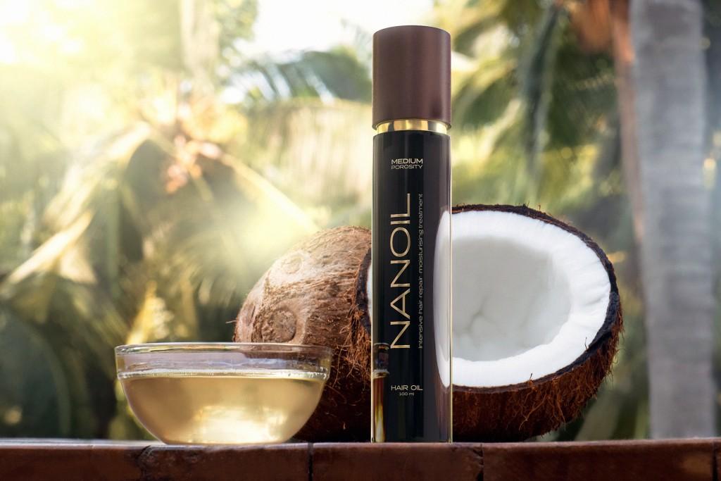 Nanoil hair oil - reach for perfection
